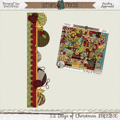 12 Days of Christmas - ADDITIONAL FREEBIE