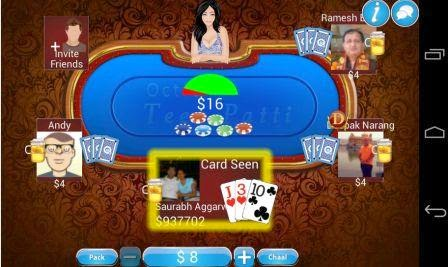multiplayer poker with private room