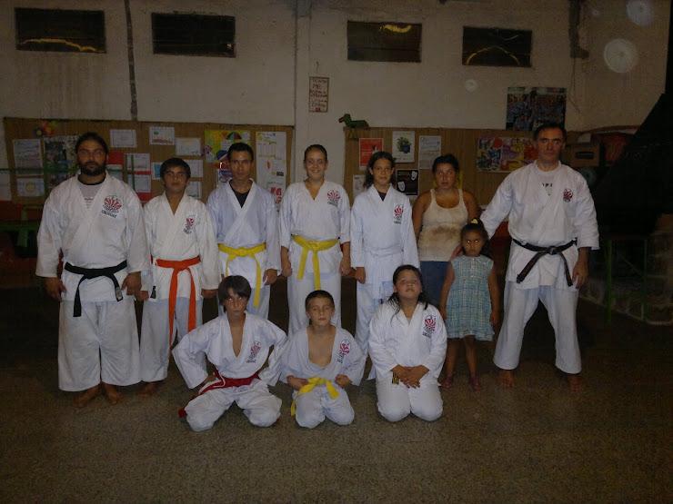 Visita al Dojo del Prof. Julio Almada.-