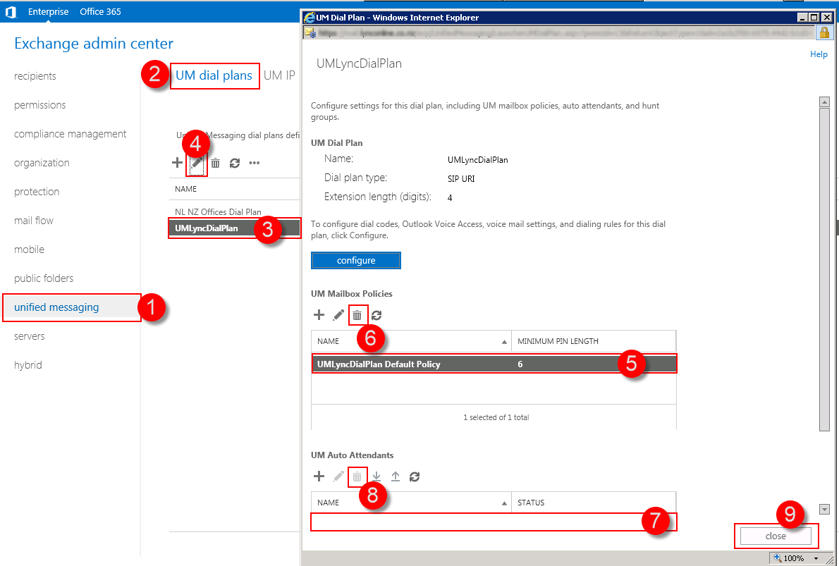 Removing an Exchange 2013 UM Dial Plan | UC Geek - Lync and Skype for ...