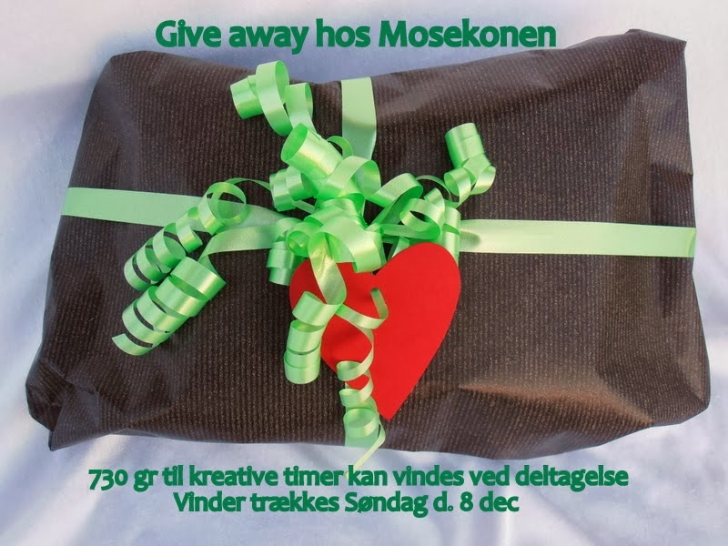 Give Away hos Mosekonen