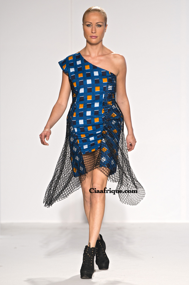 Labo-ethnik 2012:Chichia london-African fashion style dress