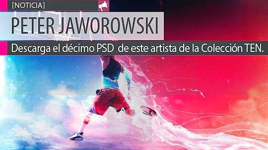 Peter Jaworowski. Descarga gratis décimo PSD de la Colección TEN