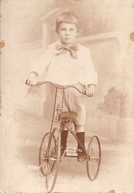 Unknown boy from collection of Helen Killeen Parker