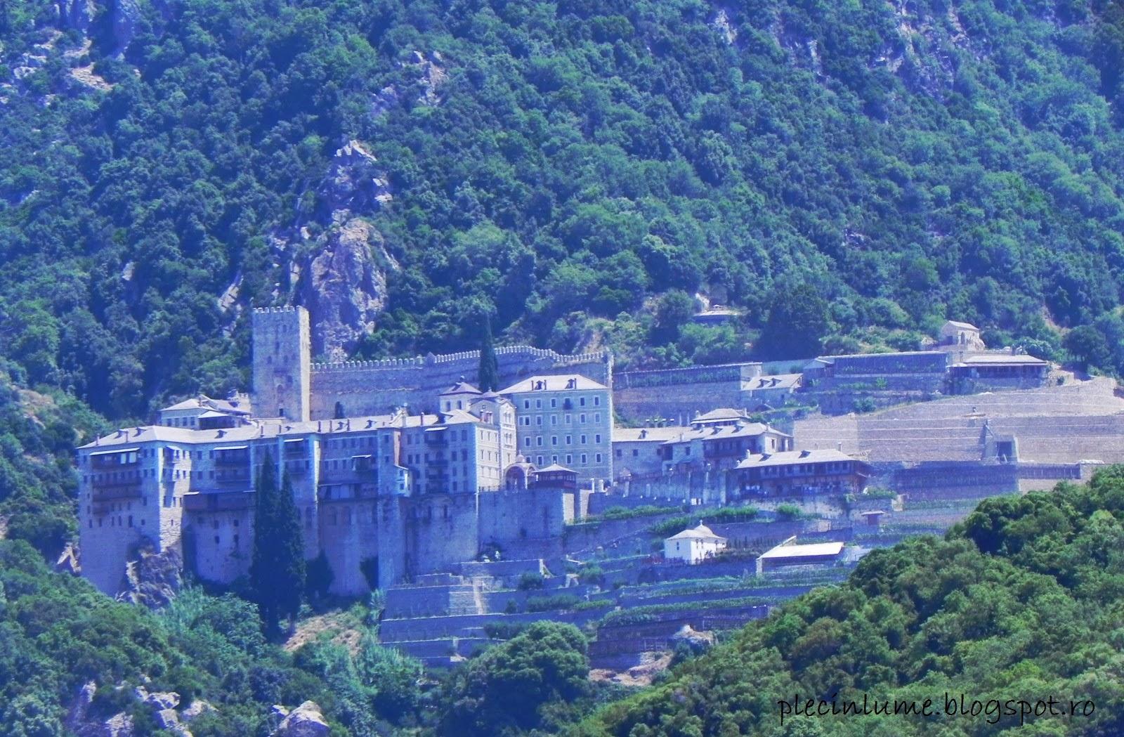 Manastirea Sfantul Paul din Athos