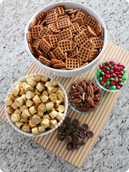 Easy Chocolate Caramel Pretzel Bites - My Favorite Christmas Treat