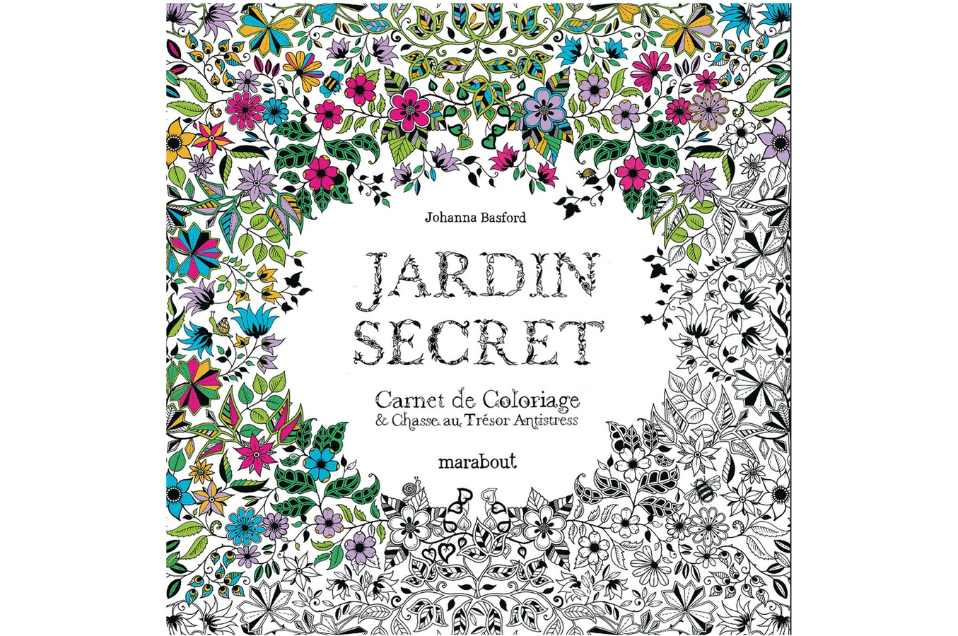 Valivre le coloriage anti stress for Akeo jardin secret 2015