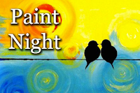 Image result for paint night images