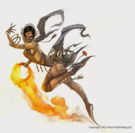 Carolina Eade deviantart ilustrações fantasia criaturas mágincas fantásticas