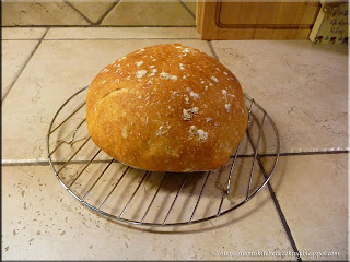 boule just out of oven