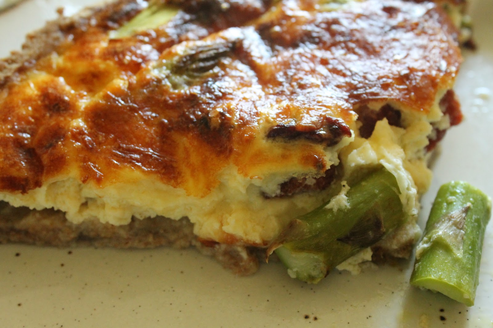 Jibberjabberuk asparagus and bacon quiche for Luxury quiche
