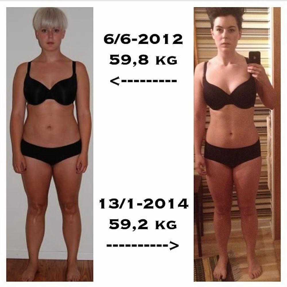 muskler väger mer än fett