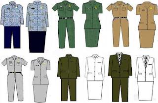 Baju Seragam PNS Baru