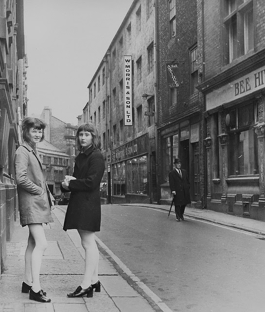 Street Scenes In Newcastle Uk In The 1960s Vintage Everyday