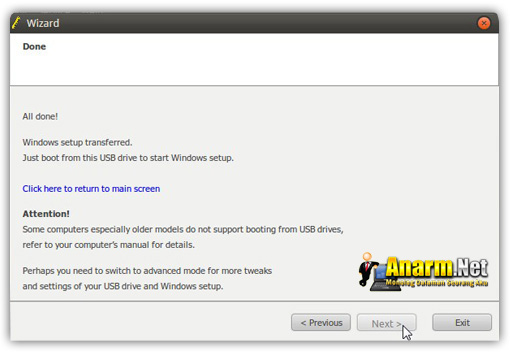 Windows 7 USB tutorial WinToFlash