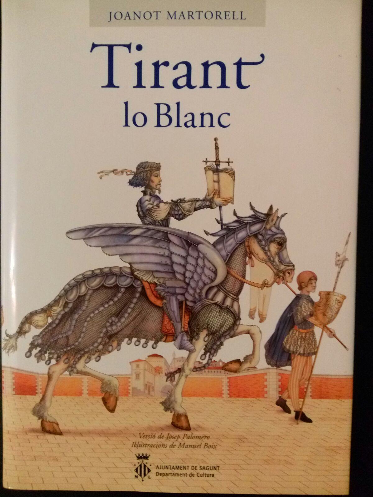 Tirant lo Blanc, la primera novel·la moderna