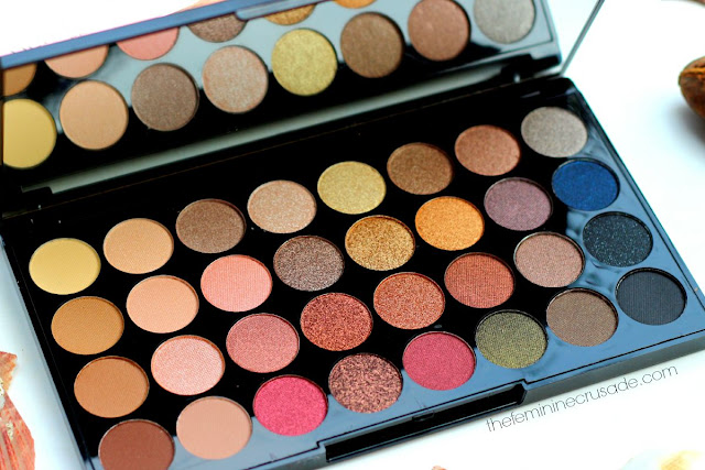 Makeup Revolution Ultra Eyeshadow Flawless Palette
