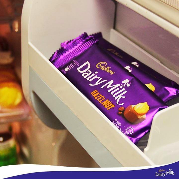 oklat Susu dengan Kacang Hazel – Cadbury Dairy Milk Hazelnut diharamkan