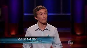 Definr Bottle owner Carter Kostler
