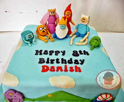 The Adventures of Finn & Jake Cake