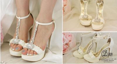 bí quyết chọn giày cho cô dâu trong ngày cưới