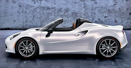 2016 alfa romeo 4c spider series price and review | car drive and