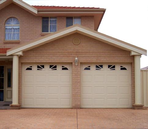 Just buzzing stylish garage doors for 4 door garage plans