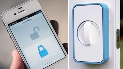 تقنية جديدة لفتح الأبواب باستخدام هواتف ايفون و اندرويد