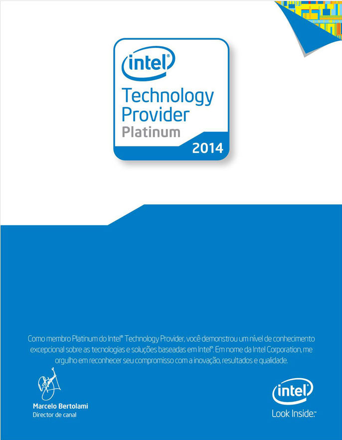 Intel Technology Provider Platinum 2014