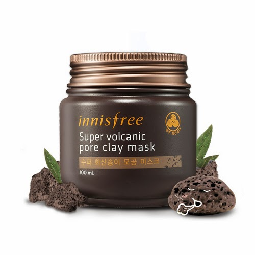 innisfree jeju super volcanic pore clay mask review lunarrive singapore