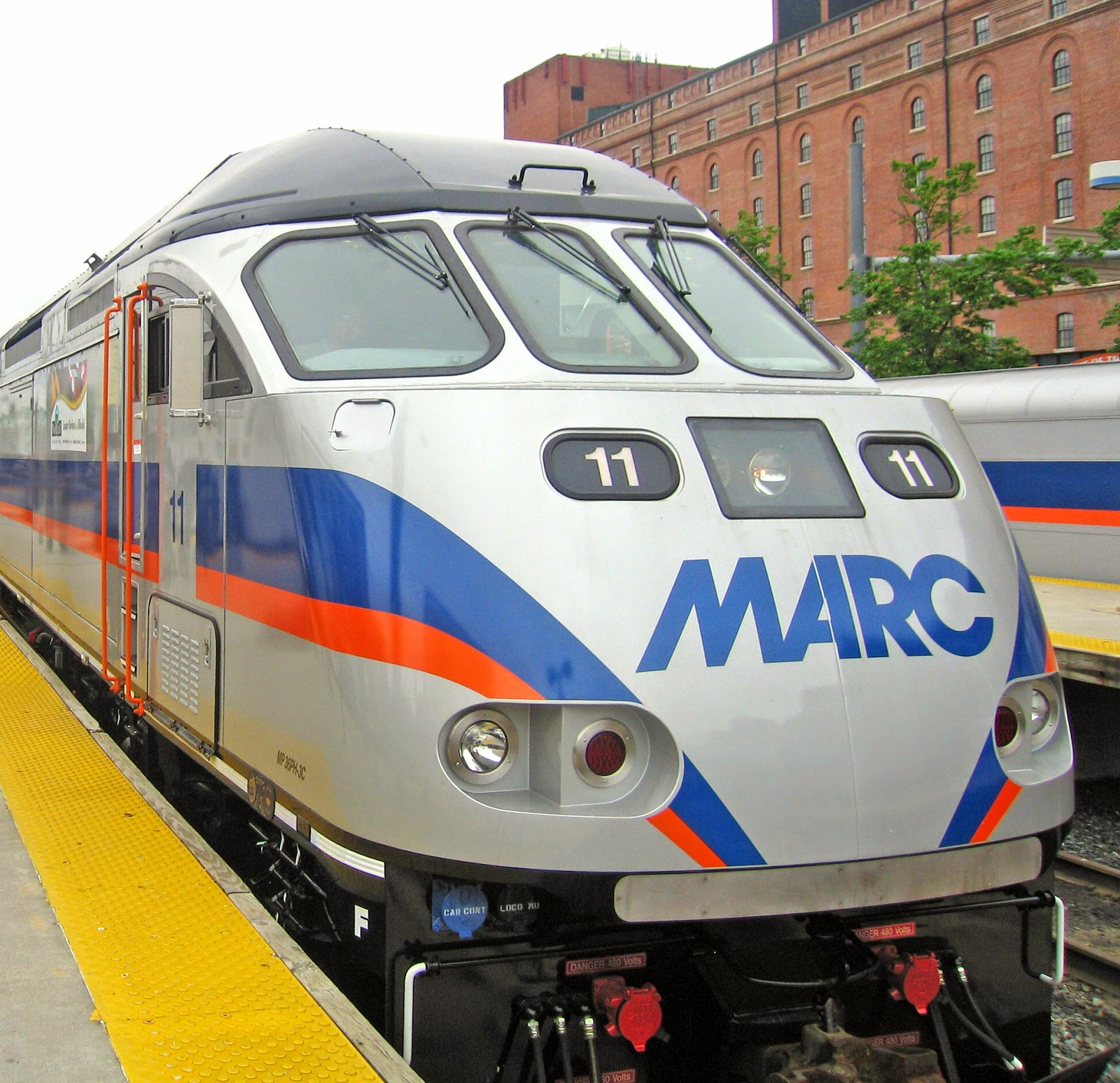 is my marc monthly/weekly pass good for marc train weekend service
