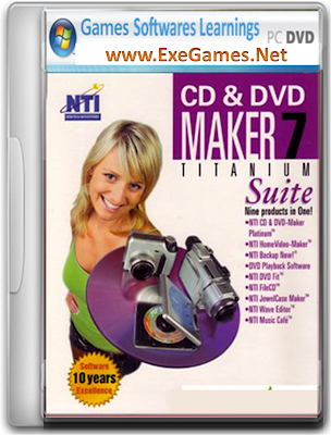 NTI CD and DVD Maker 7.0