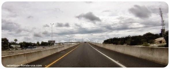 von Jacksonville Entfernung Tipp Strecke