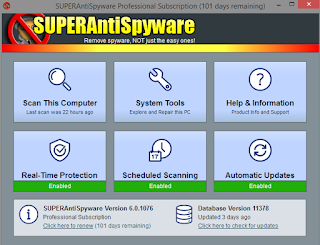 Download SUPERAntiSpyware Free Edition Version 6.0.1204