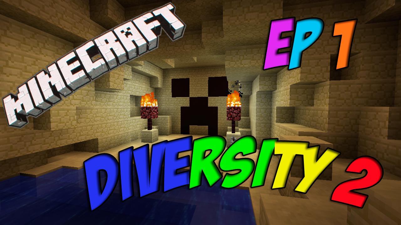Minecraft 1.8: Diversity 2 Ep. 1