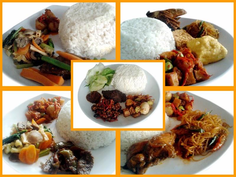 Meni Nasi Kotak, Catering Online Bandung