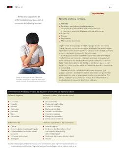 Apoyo Primaria Ciencias Naturales 5to grado Bloque I tema 2 Situaciones de riesgo en la adolescencia