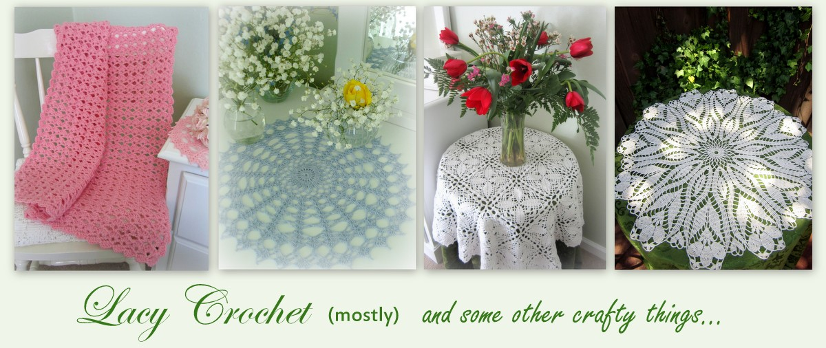 Lacy Crochet Free Crochet Flower Patterns