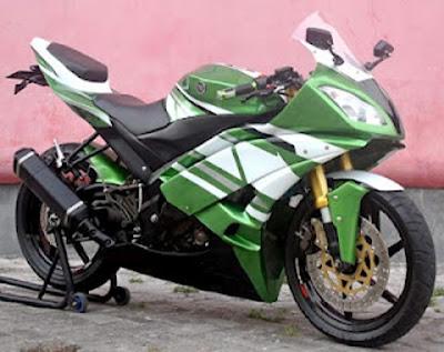 Foto modifan motor Yamaha Vixion - exnim.com