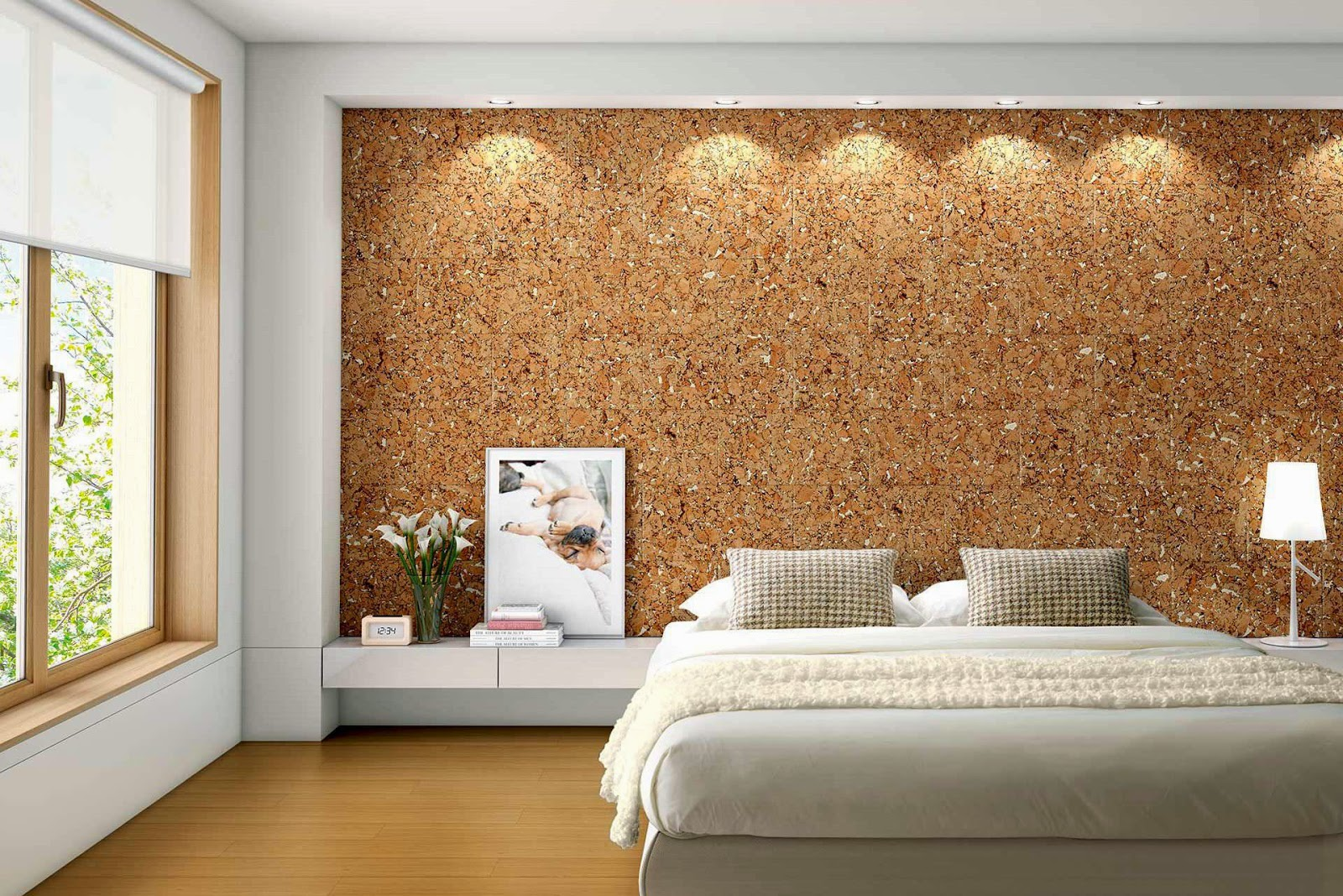 Le li ge mural un isolant efficace et d coratif d co etc for Isolation d une chambre