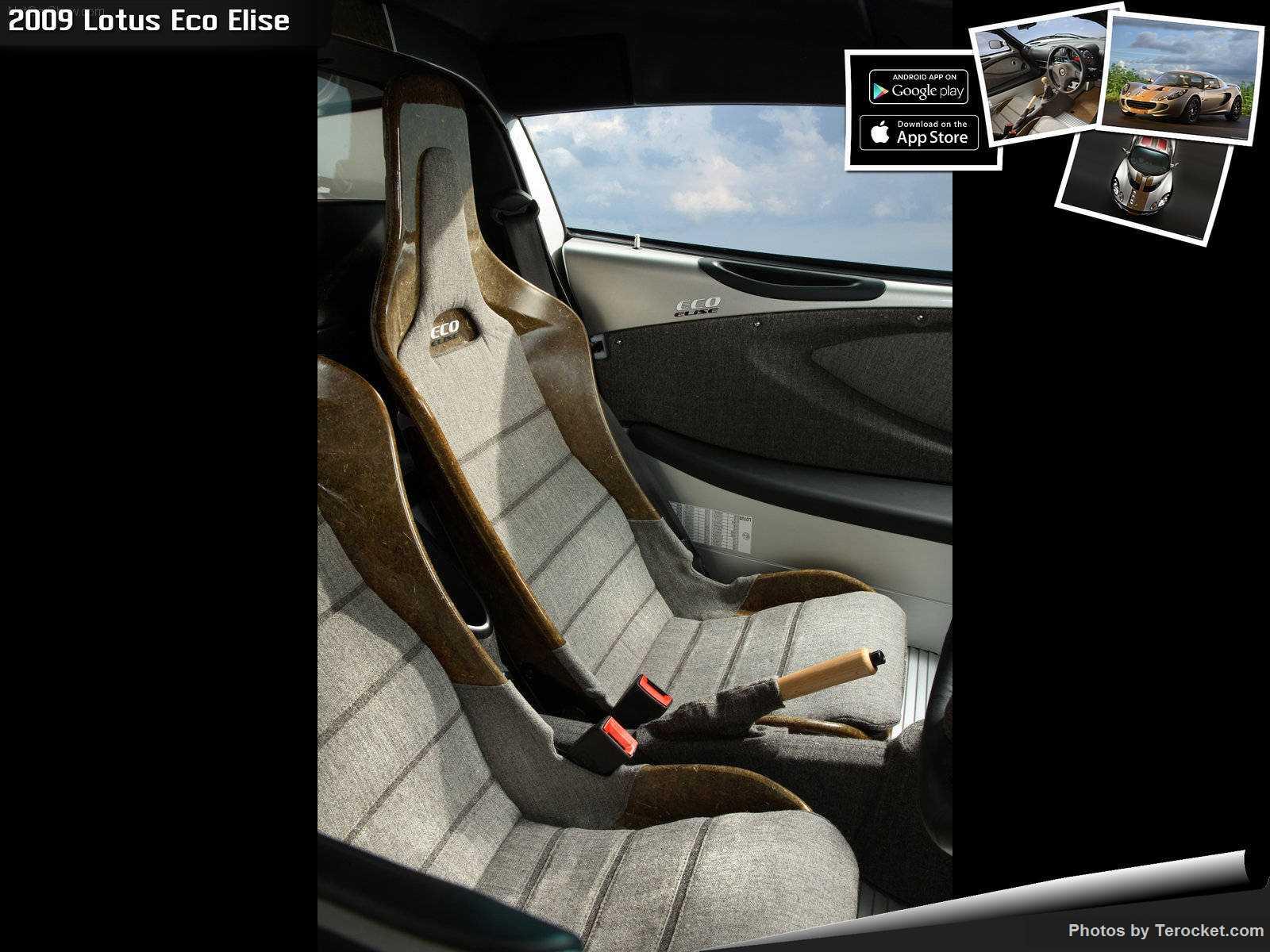 Hình ảnh siêu xe Lotus Eco Elise 2009 & nội ngoại thất