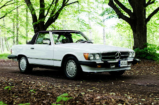 10 Mercedes-Benz 560SL R107 1988