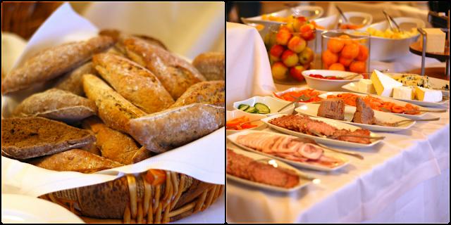 vejlefjord, morgenbuffet, morgenmad, lækkert, hasselnøddehonning, økologisk
