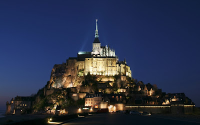 Mont Saint Michel Castle - France