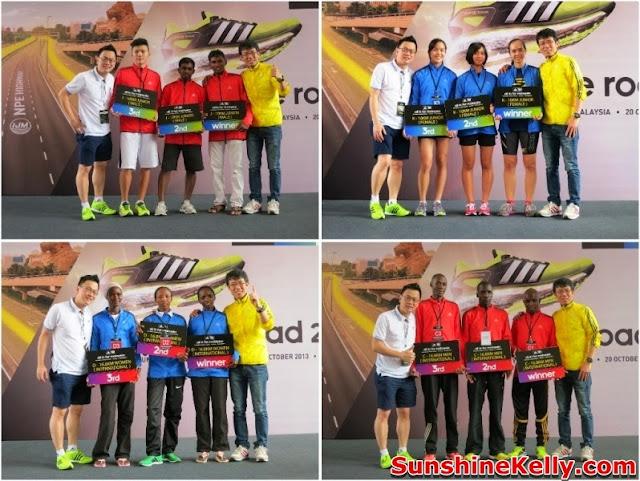adidas Malaysia, King Of The Road 2013, marathon, winners, runners, run prizes, Run, race, sunway pyramid, adidas, kotr