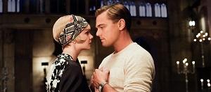 Carey Mulligan y Leonardo DiCaprio en El gran Gatsby