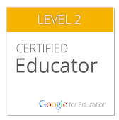 Google Certified Educator - Level 2