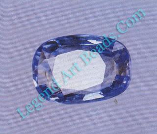 Sapphire from Sri Lanka.