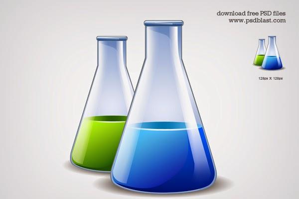 Scientific Research Icon PSD