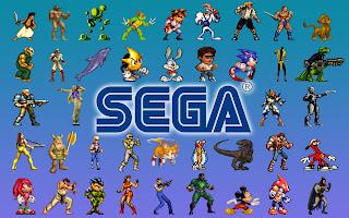 Retro Sega video gaming old school desktop wallpaper